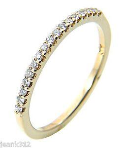 Image Is Loading Lab Diamond Wedding Ring Band 14k Yellow Gold