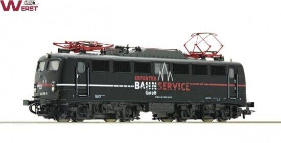 Roco 52555 E -Lok BR 140 789 -9 Erfurter Bahnservice DC H0 1 87 NEU & OVP