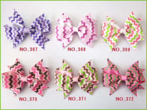 "300 BLESSING Good Girl Custom Boutique 3.5/"" Mermaid Hair Bow Clip #420 Wholesale"