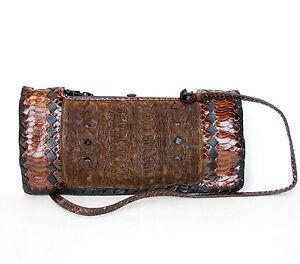 3bc09b178fde Details about  3480 New Authentic BOTTEGA VENETA Python Evening Bag  Handbag