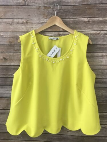 New Women/'s Forever audrey  tunic Sleeveless Pearl top Plus size X 1X 2X 3X