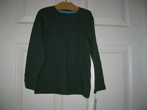 Jumping-Beans-Boys-T-shirt-top-tee-Long-Sleeve-Green-4T-New-NWT