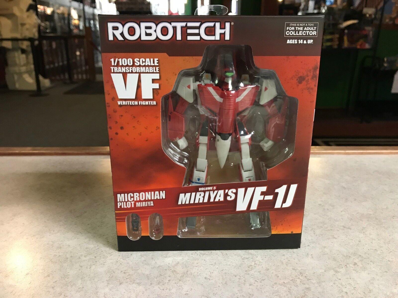 2018 toynami robotech miriya ist vf-1j veritech kämpfer 1   100 abbildung nib