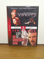 Consenting Adults / An Innocent Man (dvd) Kevin Kline, Tom Selleck, Brand