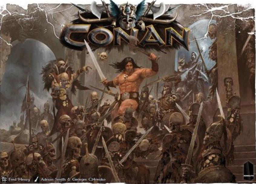 Conan Core Board Game par monolithe