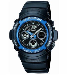 Casio-G-Shock-Digital-Watch-AW-591-2AER-Mens-Black-Chronograph-Sports-LED-Light