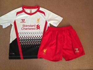 super popular d79e5 ea060 girls liverpool football kit
