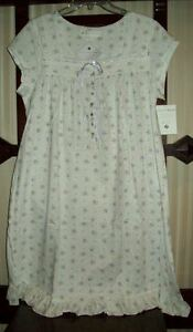 ada610c2ffe NWT EILEEN WEST 100% PIMA COTTON JERSEY KNIT S/SLV GOWN LILAC FLORAL ...