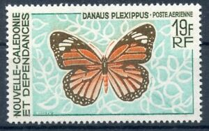 TIMBRE-NOUVELLE-CALEDONIE-NEUF-PA-N-92-FAUNE-PAPILLON-COTE-9-50