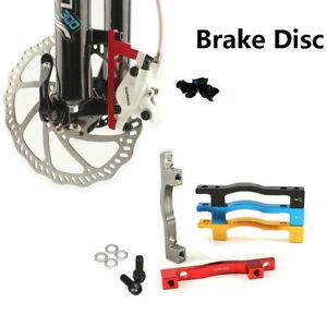 Road-Bike-Disc-Brake-Mount-Adaptor-for-MTN-MTB-180-203mm-Front-Rear-PM-Caliper