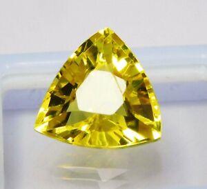 Natural-CERTIFIED-Trillion-Cut-9-Ct-Ceylon-Yellow-Sapphire-Loose-Gemstone