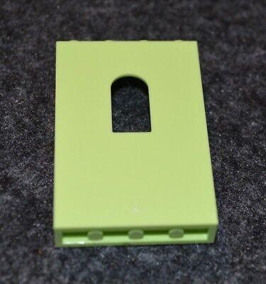 8 1x3 Spring Yellowish Green Standard Plate Bricks ~ Lego ~ NEW