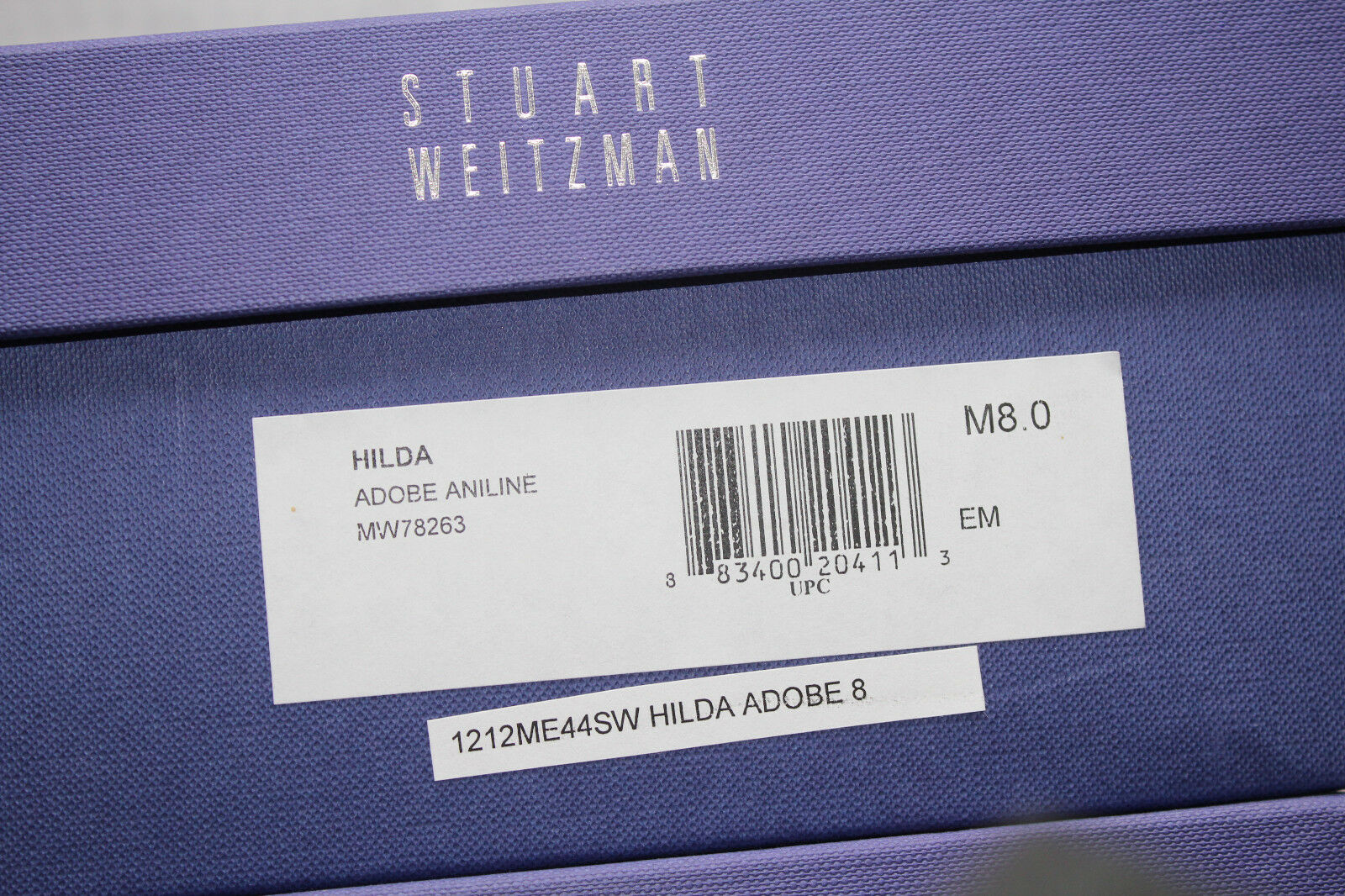 STUART WEITZMAN HILDA ADOBE ADOBE ADOBE ANILLENE  8us  388 3b29de