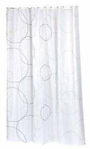 ava extra long 100 polyester fabric shower curtain size 70 wide x 84 long ebay. Black Bedroom Furniture Sets. Home Design Ideas