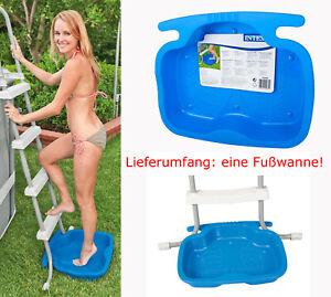Intex-29080-Fussbad-Fusswanne-fuer-Poolleiter-Fussbad-Pool-Leiter-Schwimmbecken