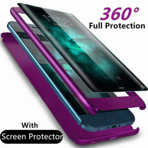Luxe-360-Degre-Full-Cover-Telephone-Antichoc-Case-Pour-Samsung-Galaxy-S9-S8-Plus