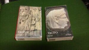 tacito annali i classici collezione mondadori 2 volumi, 8mg21