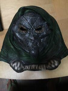 Doctor Dr Doom Disguise Marvel Full Head Latex Vintage Mask 1990 Fantastic Four Ebay