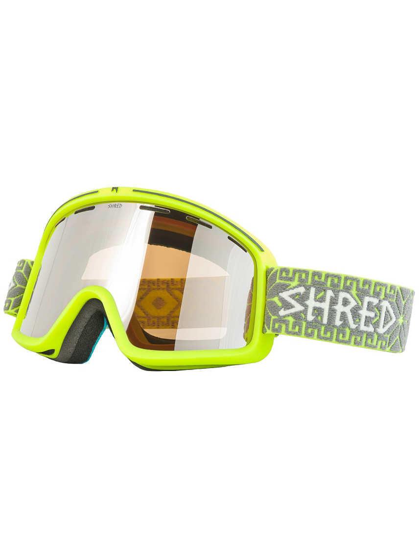 Shred Monocle NORFOLK YELLOW Snow Goggle Ski race Retail-