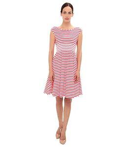 Image Is Loading Nwt Kate Spade Pink White Stripe Dress L