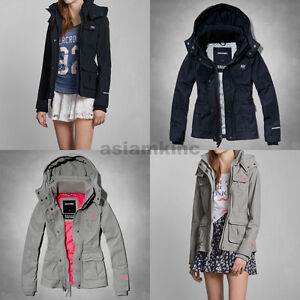 Abercrombie & Fitch A&F Women All-Season Weather Warrior ...
