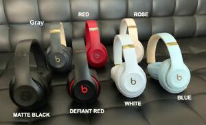 Like N3w Beats By Dre Studio 3 Wireless Over Ear Headphones Matte Black Studio3 Ebay