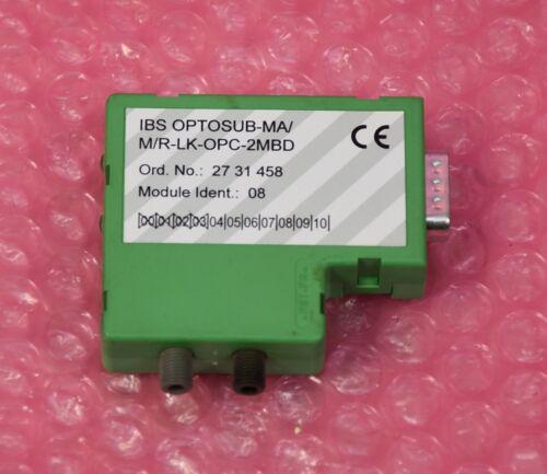 Phoenix contac ibs optosub-ma//m//r-lk-opc-2mbd optosub conector Encárguele nr 2731458