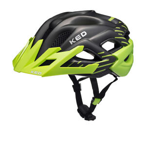 KED-Status-jr-Junior-Jugendhelm-Kinderhelm-Fahrradhelm-green-black-matt-52-59