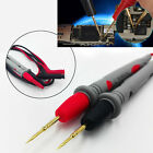 pair tip needle SMT SMD IC Multimeter Pen for 4mm Banana plug Test Probes Cables