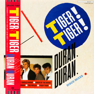 Duran Duran Tiger! Tiger! EMI EMS-50142 LP JAPAN OBI INSERT
