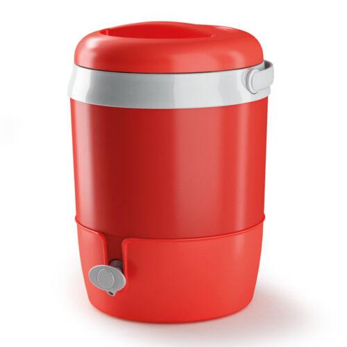 Thermo 6L Flasche Fass Getränk Wein Wasserspender Tischplatte Party BBQ Getränk