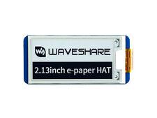 Waveshare V2 213inch E Paper Hat E Ink Display Spi For Rpi 4b 3b Zerozero W