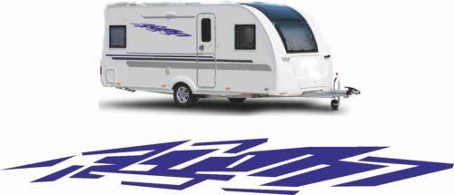 2x caravana pegatinas caravana auto pegatinas Caravan sticker 120cm informa del color
