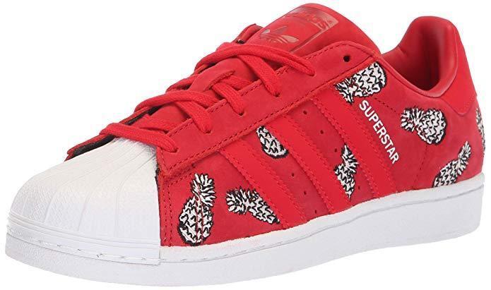 Adidas Originals Women's Superstar B28040 shoes Running Scarlet White