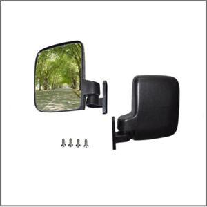Real-Glass-Golf-Cart-Mirrors-Side-Rear-View-Mirrors-EZGO-Club-Car-Yamaha-ATV