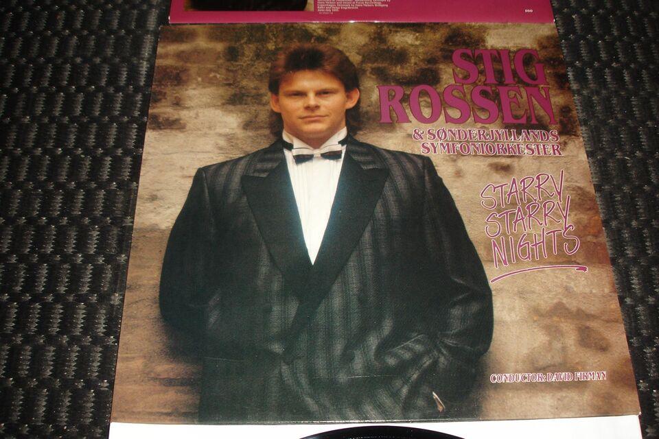 LP, Stig Rossen & Sønderjyllands Symfoniorkester, Starry