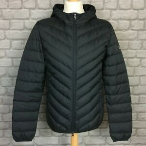 EA7-EMPORIO-ARMANI-MENS-BLACK-DOWN-CHEVRON-BAFFLE-JACKET-PACKABLE-RRP-160-A
