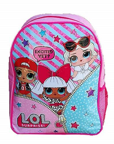 LOL Surprise Backpack gym bag Lunch Set Coin Purse Pencil Case Stationery Set