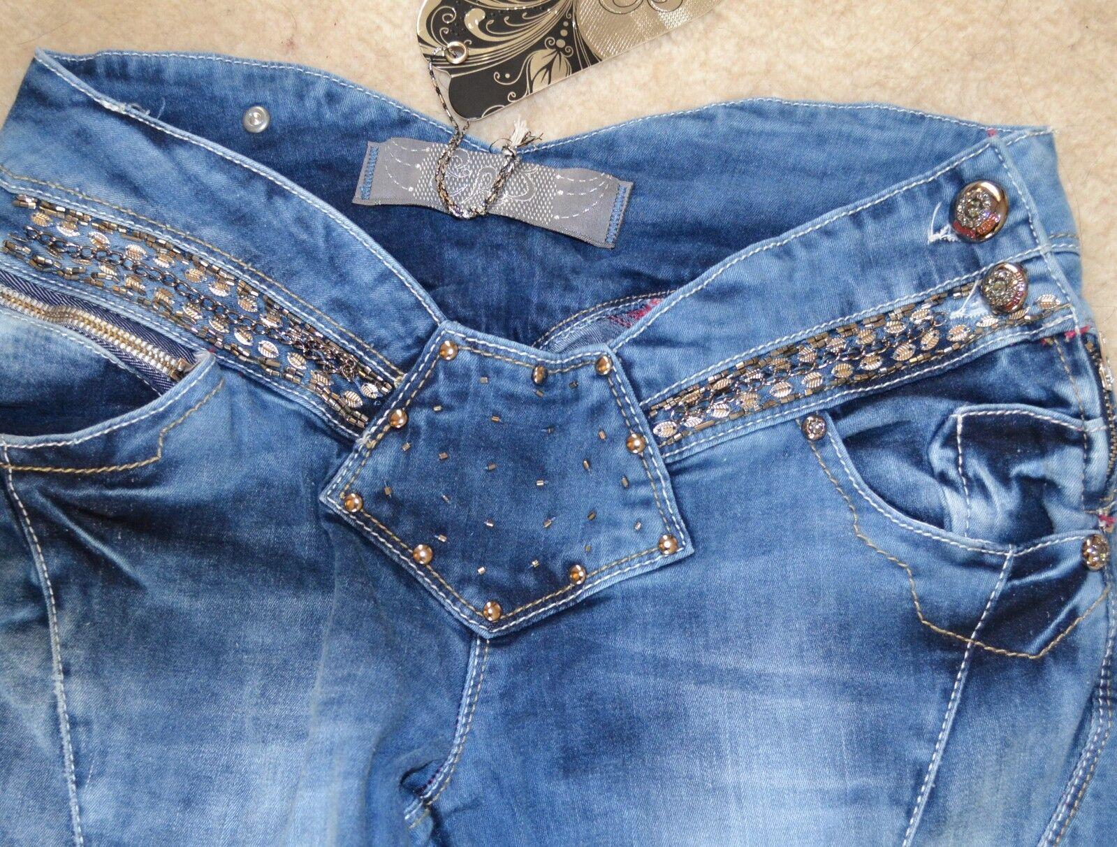 Neu Designer ESTERO RAGAZZA Jeans  W28 L34   NP 129 99 EURO