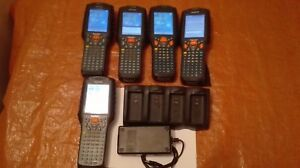 Datalogic Lot X5 Kyman-net Kyman Ce 4.2 With Battery And Mbc Une Grande VariéTé De Marchandises