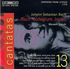 J.S. BACH : CANTATAS - BACH COLLEGIUM JAPAN, SUZUKI / CD (BIS-CD-1041)