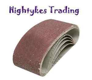 20 Sanding Belts Belt Abrasive 65 X 410 Bosch B&d Dewalt Aeg Makita All Grits