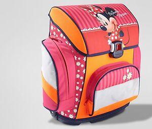 Toller-Schulranzen-Ranzen-Schultasche-Schulrucksack-Disney-Minnie-Mouse-NEU