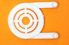 White Plastic Peg Board Multi Purpose Tool Holder 50 Pk Pegboard Not Included