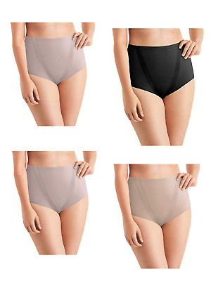 Maidenform Women 4-Pack Everyday Control Tummy Toning Brief Panties