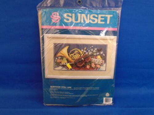 Sunset Needlepoint Serenade Still Life Kit 12069