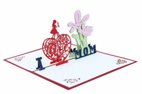 Mom/'s Birthday-Valentines for Mom-Grandma Mothers day greeting card