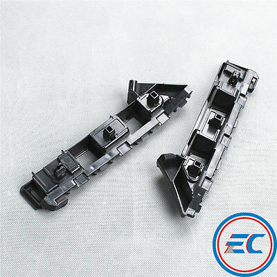 Fit VW Jetta 2011-2014 Pair Front Bumper Brackets Holder Mounting Retainer L+R