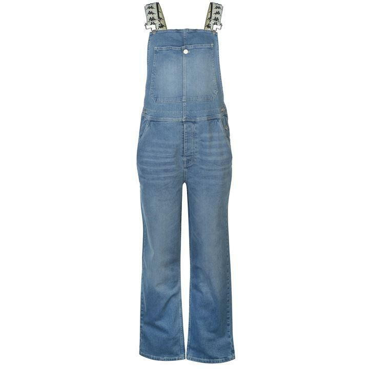 Kappa Besteo dungarees womens UK size 12 (M) light bluee wash regular fit