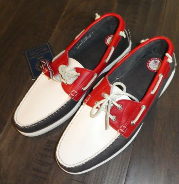 1146dc256d Polo Telford Ralph Lauren Olympic Licensed Mens Boat Shoes Size 11 Made in  USA